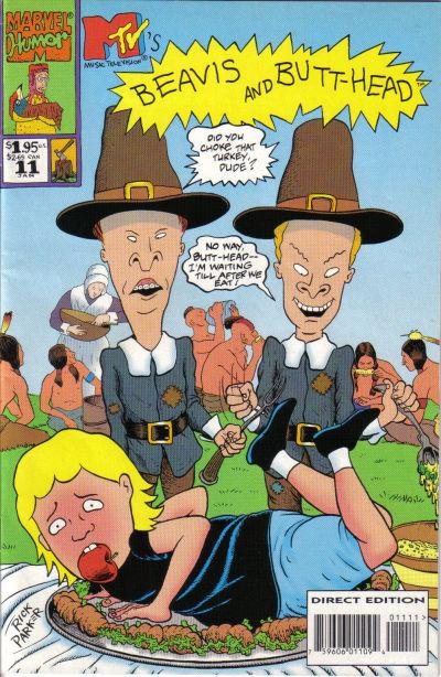 Cover for Beavis & Butt-Head (Marvel, 1994 series) #11