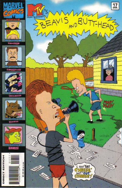 Cover for Beavis & Butt-Head (Marvel, 1994 series) #17