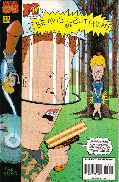Cover for Beavis & Butt-Head (Marvel, 1994 series) #19