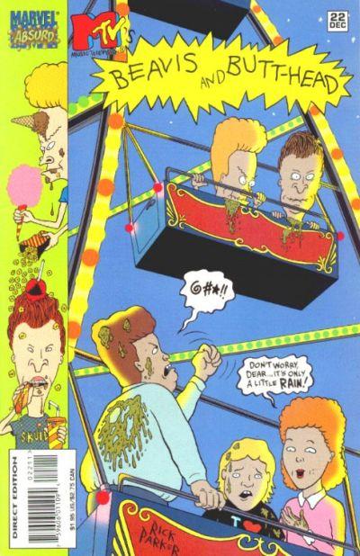 Cover for Beavis & Butt-Head (Marvel, 1994 series) #22