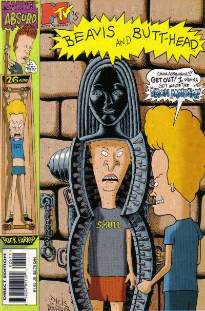 Cover for Beavis & Butt-Head (Marvel, 1994 series) #26