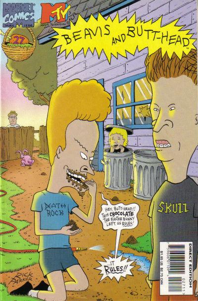 Cover for Beavis & Butt-Head (Marvel, 1994 series) #27