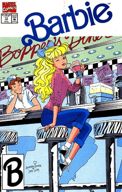 Cover for Barbie (Marvel, 1991 series) #13 [Direct]