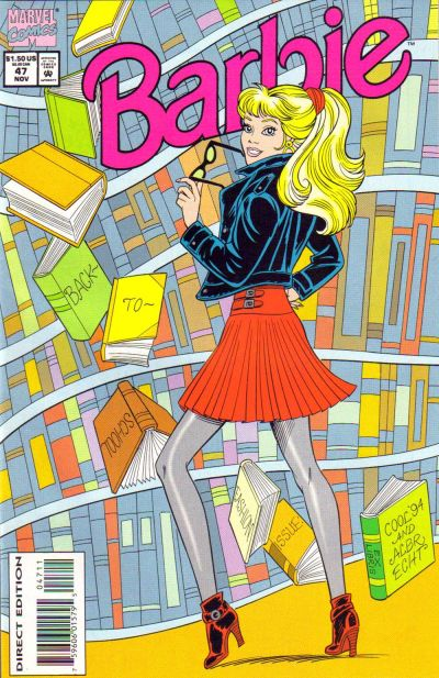 Cover for Barbie (Marvel, 1991 series) #47