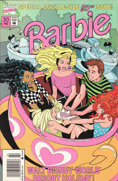 Cover for Barbie (Marvel, 1991 series) #50