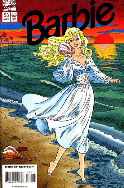 Cover for Barbie (Marvel, 1991 series) #53
