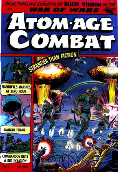 Cover for Atom-Age Combat (St. John, 1952 series) #1