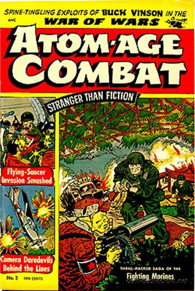Cover for Atom-Age Combat (St. John, 1952 series) #2