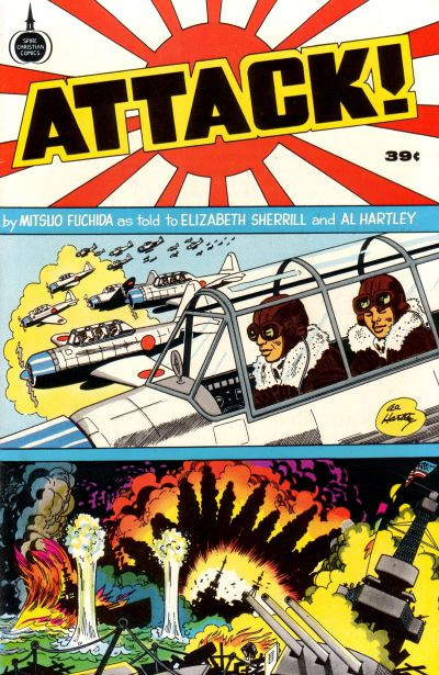 Cover for Attack! (Fleming H. Revell Company, 1975 series)  [39-Cent Variant]
