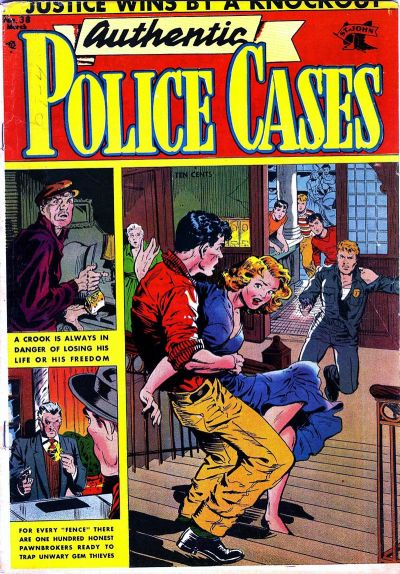 Cover for Authentic Police Cases (St. John, 1948 series) #38