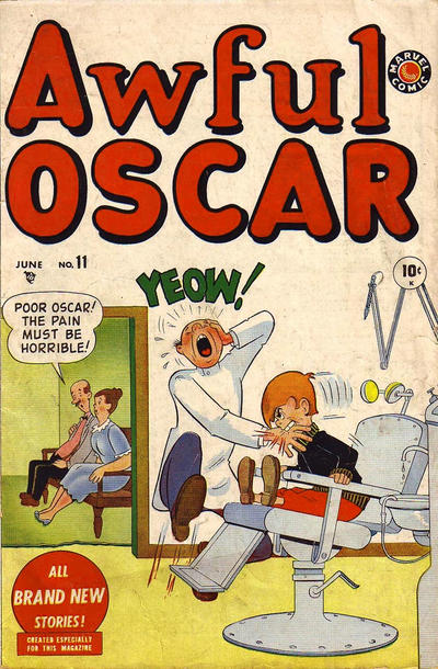 Cover for Awful Oscar (Marvel, 1949 series) #11