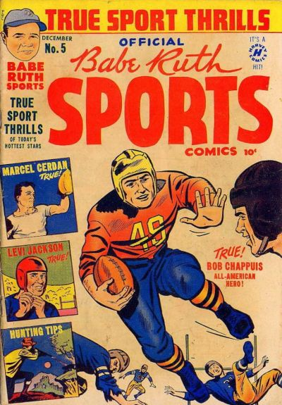 Cover for Babe Ruth Sports Comics (Harvey, 1949 series) #5