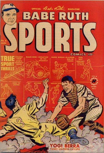 Cover for Babe Ruth Sports Comics (Harvey, 1949 series) #8