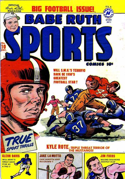 Cover for Babe Ruth Sports Comics (Harvey, 1949 series) #10