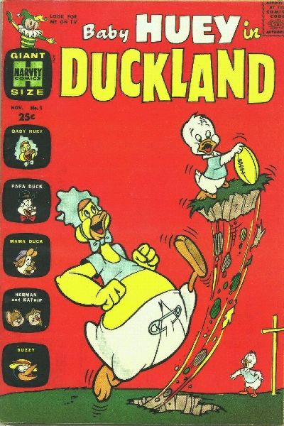Cover for Baby Huey in Duckland (Harvey, 1962 series) #1