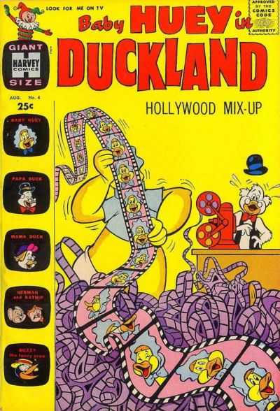 Cover for Baby Huey in Duckland (Harvey, 1962 series) #4