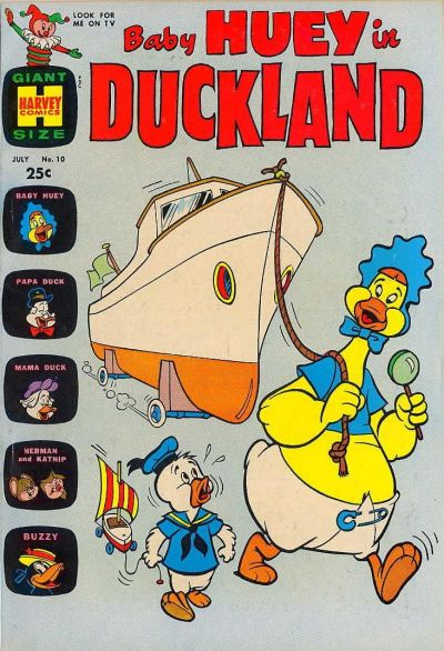 Cover for Baby Huey in Duckland (Harvey, 1962 series) #10