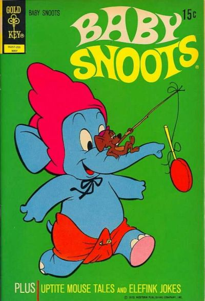 Cover for Baby Snoots (Western, 1970 series) #8 [Gold Key Variant]