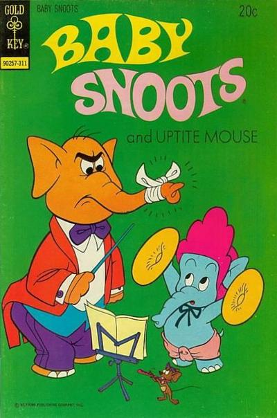 Cover for Baby Snoots (Western, 1970 series) #14 [Gold Key Variant]