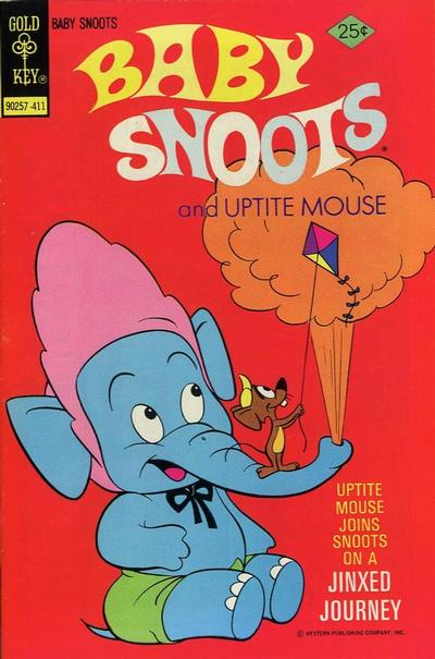 Cover for Baby Snoots (Western, 1970 series) #18 [Gold Key]
