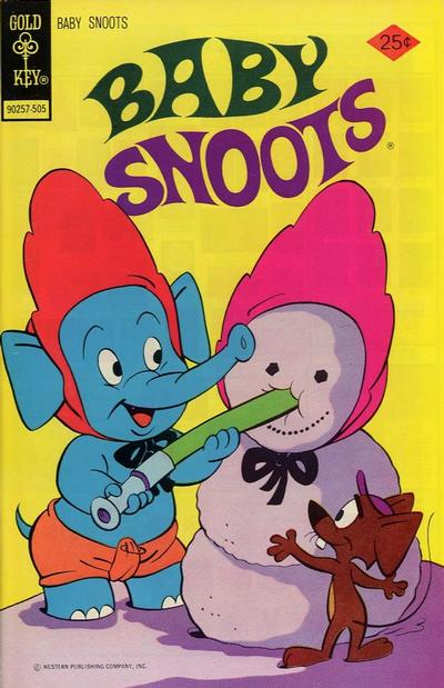 Cover for Baby Snoots (Western, 1970 series) #20