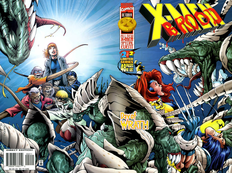 Cover for X-Men vs. The Brood (Marvel, 1996 series) #2