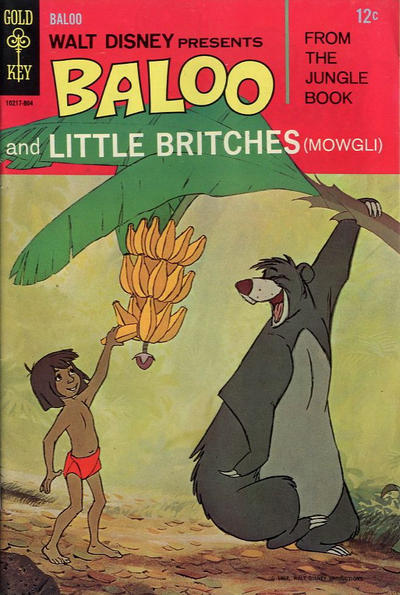 Cover for Walt Disney Presents Baloo and Little Britches (Western, 1968 series) #1