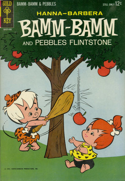 Cover for Bamm-Bamm and Pebbles Flintstone (Western, 1964 series) #1
