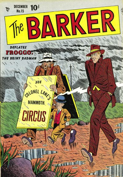 Cover for The Barker (Quality Comics, 1946 series) #15