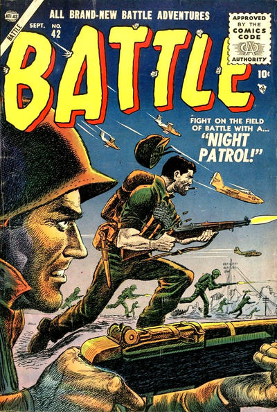 Cover for Battle (Marvel, 1951 series) #42