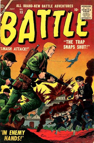 Cover for Battle (Marvel, 1951 series) #53