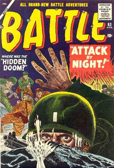 Cover for Battle (Marvel, 1951 series) #63