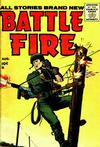 Cover for Battle Fire (Stanley Morse, 1955 series) #3