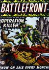 Cover for Battlefront (Marvel, 1952 series) #1