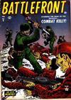 Cover for Battlefront (Marvel, 1952 series) #9