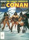 Cover for The Savage Sword of Conan (Marvel, 1974 series) #121