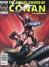 Cover for The Savage Sword of Conan (Marvel, 1974 series) #158 [Newsstand]