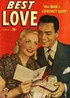 Cover for Best Love (Marvel, 1949 series) #33