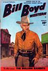 Cover for Bill Boyd Western (Fawcett, 1950 series) #1