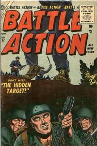 Cover Thumbnail for Battle Action (Marvel, 1952 series) #17