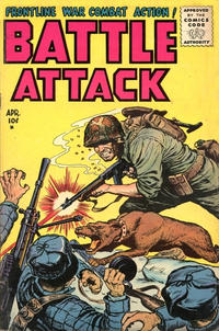 Cover Thumbnail for Battle Attack (Stanley Morse, 1954 series) #4