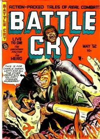 Cover Thumbnail for Battle Cry (Stanley Morse, 1952 series) #1