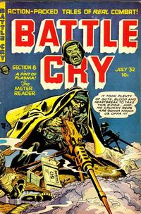 Cover Thumbnail for Battle Cry (Stanley Morse, 1952 series) #2