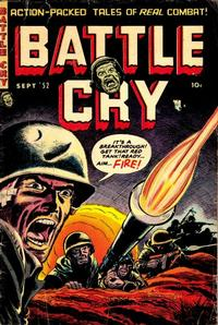Cover Thumbnail for Battle Cry (Stanley Morse, 1952 series) #3
