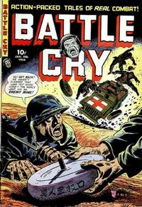 Cover Thumbnail for Battle Cry (Stanley Morse, 1952 series) #5