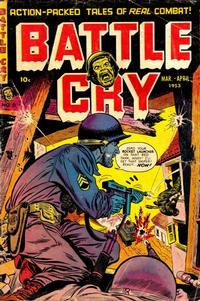 Cover Thumbnail for Battle Cry (Stanley Morse, 1952 series) #6