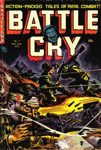 Cover Thumbnail for Battle Cry (Stanley Morse, 1952 series) #7