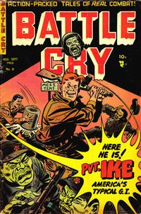 Cover Thumbnail for Battle Cry (Stanley Morse, 1952 series) #8