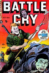 Cover Thumbnail for Battle Cry (Stanley Morse, 1952 series) #9