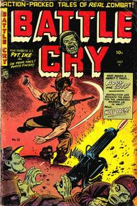 Cover Thumbnail for Battle Cry (Stanley Morse, 1952 series) #13